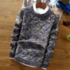Couple Matching Round-neck Sweater