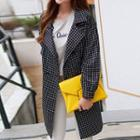 Plaid Lapel Jacket