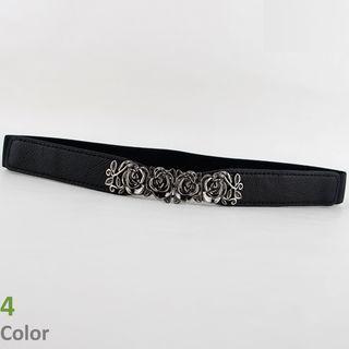 Flower Slim Elastic Belt
