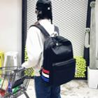 Contrast Stripe Backpack