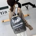 Plain Padded Backpack