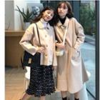 Plain Buttoned Jacket / Coat