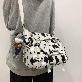 Animal Print Messenger Bag
