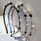 Pearl Embellished Hair Band