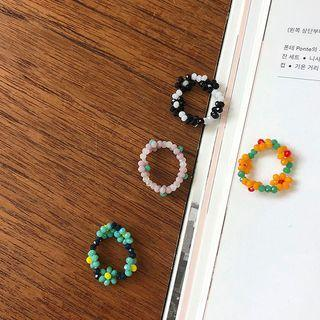 Flower-beaded Ring