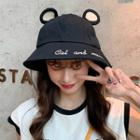 Mouse Ear Embroidered Bucket Hat