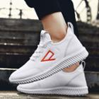 Embroidered Mesh Sneakers