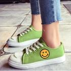 Smile Canvas Sneakers