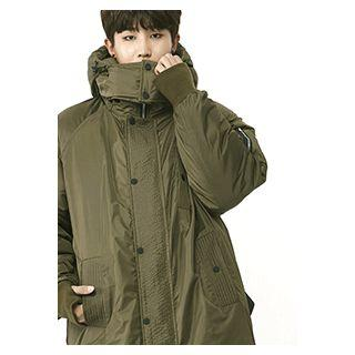 Couple Hooded Duck-down Puffer Jacket