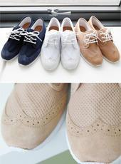 Faux-suede Trim Sneakers