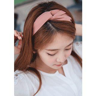 Knotted Fabric Elastic Hair Band
