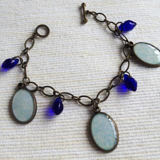 Vintage Blue Bracelet One Size