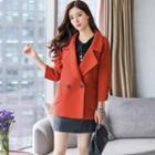 Double-button Woolen Jacket