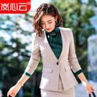 Plain Blazer / Dress Pants / Pencil Skirt / Blouse / Vest / Set