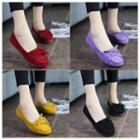 Ribbon Accent Loafers