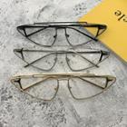 Triangle Metal Frame Eyeglasses