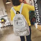 Appliqu  Shimmer Backpack