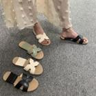 H Strap Sandals