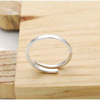 925 Sterling Silver Polished Open Ring 925 Silver - One Size