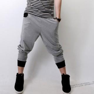 Contrast-trim Sweatpants