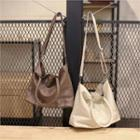 Genuine Leather Tote With Strap