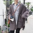Long-sleeve Loose-fit Cardigan