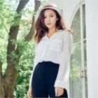 Polka-dot Lace Shirt