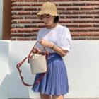 Canvas Bucket Shoulder Bag One Size