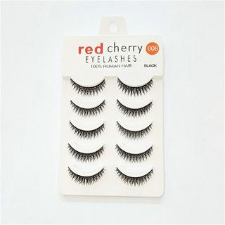False Eyelashes #008 As Shown In Figure - One Size