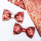 Dragon / Phoenix Print Bow Tie