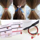 Cartoon Pendant Hair Tie