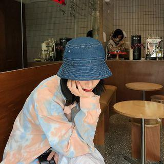 Denim Bucket Hat Denim - One Size