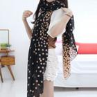 Dotted Voile Scarf