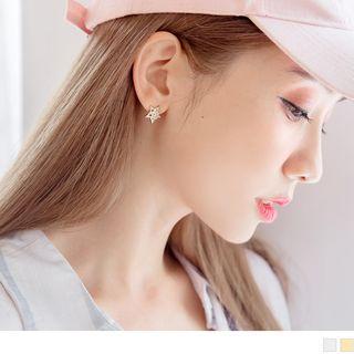 Jewelled Star Earrings