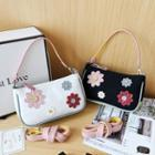 Floral Canvas Shoulder Bag