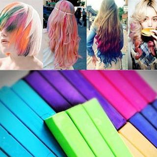 Set Of 24: Hair-color Pastels Random - One Size