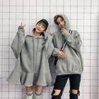 Couple Matching Drawstring Hoodie Dress / Drawstring Hoodie
