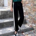 Slit Stripe Sweatpants