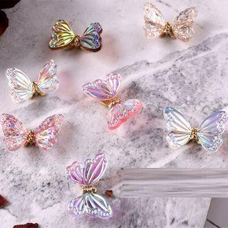 Butterfly Plastic Nail Art Decoration