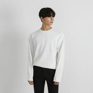 Crew-neck Knit Top In 8 Colors