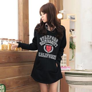 Long Sleeve Printed Pullover