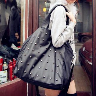 Studded Shoulder Bag