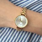 Alloy Bracelet Watch A179 - Blue - One Size
