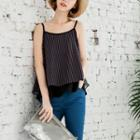 Striped Layered Camisole Top
