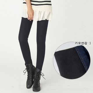 Fleece-lined Skinny Jeans