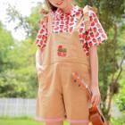 Strawberry Print Short Sleeve Shirt