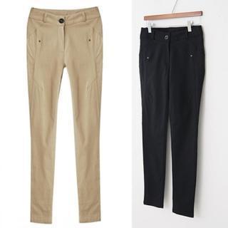 Seam Detail Skinny Pants