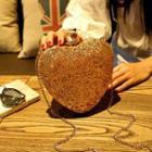 Heart Clipframe Shoulder Bag