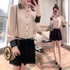 Sequin Shirtdress