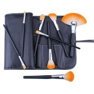 Set Of 24: Makeup Brush Set Of 24 - As Shown In Figure - One Size
